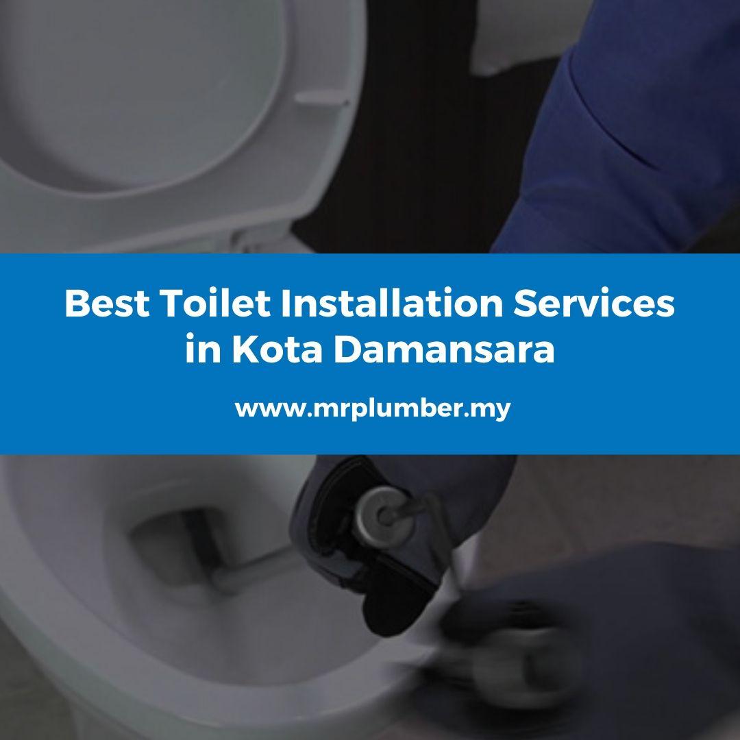 Toilet Installation Kota Damansara