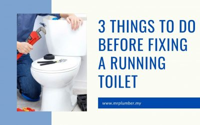 3 Things to Do Before Fixing a Running Toilet