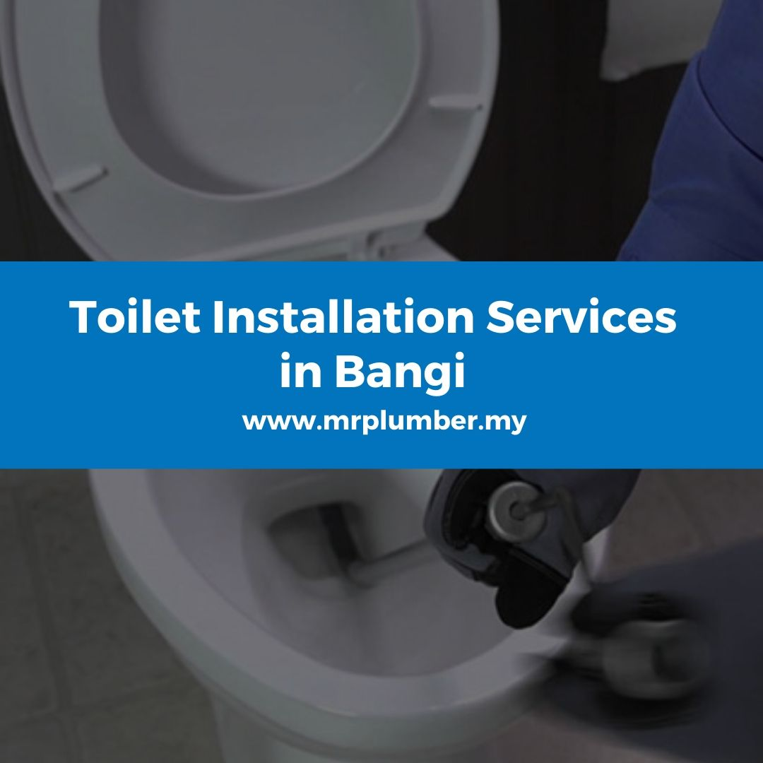 Toilet Installation Services Bangi