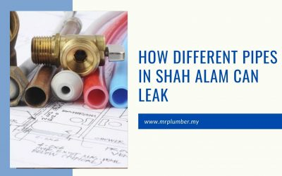 How Different Pipes in Shah Alam Can Leak