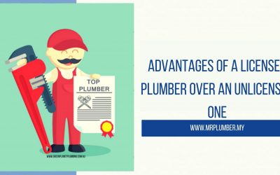 Advantages of a Licensed Plumber over an Unlicensed One