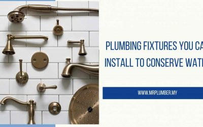 Plumbing Fixtures You Can Install to Conserve Water