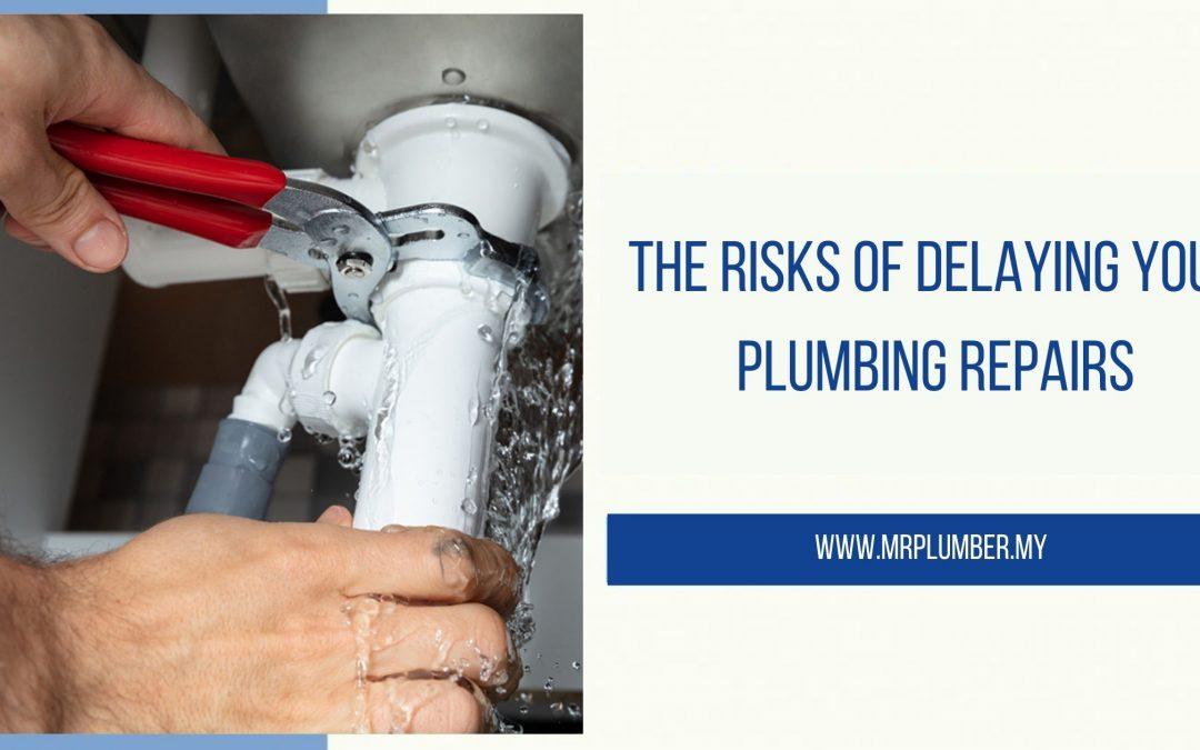 Risks of Delaying Plumbing Repairs