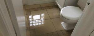 bathroom flood